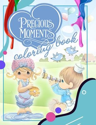 Precious Moments Coloring Book Free Spirit House 9781688174351