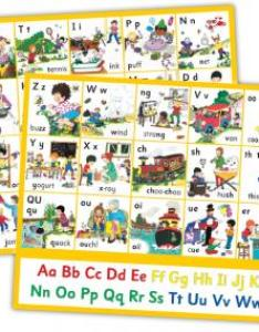 Jolly phonics letter sound wall charts also sue lloyd rh bookdepository