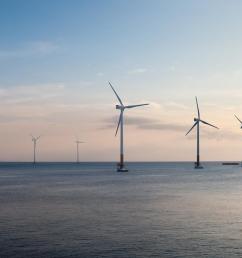 offshore wind turbines [ 1280 x 720 Pixel ]
