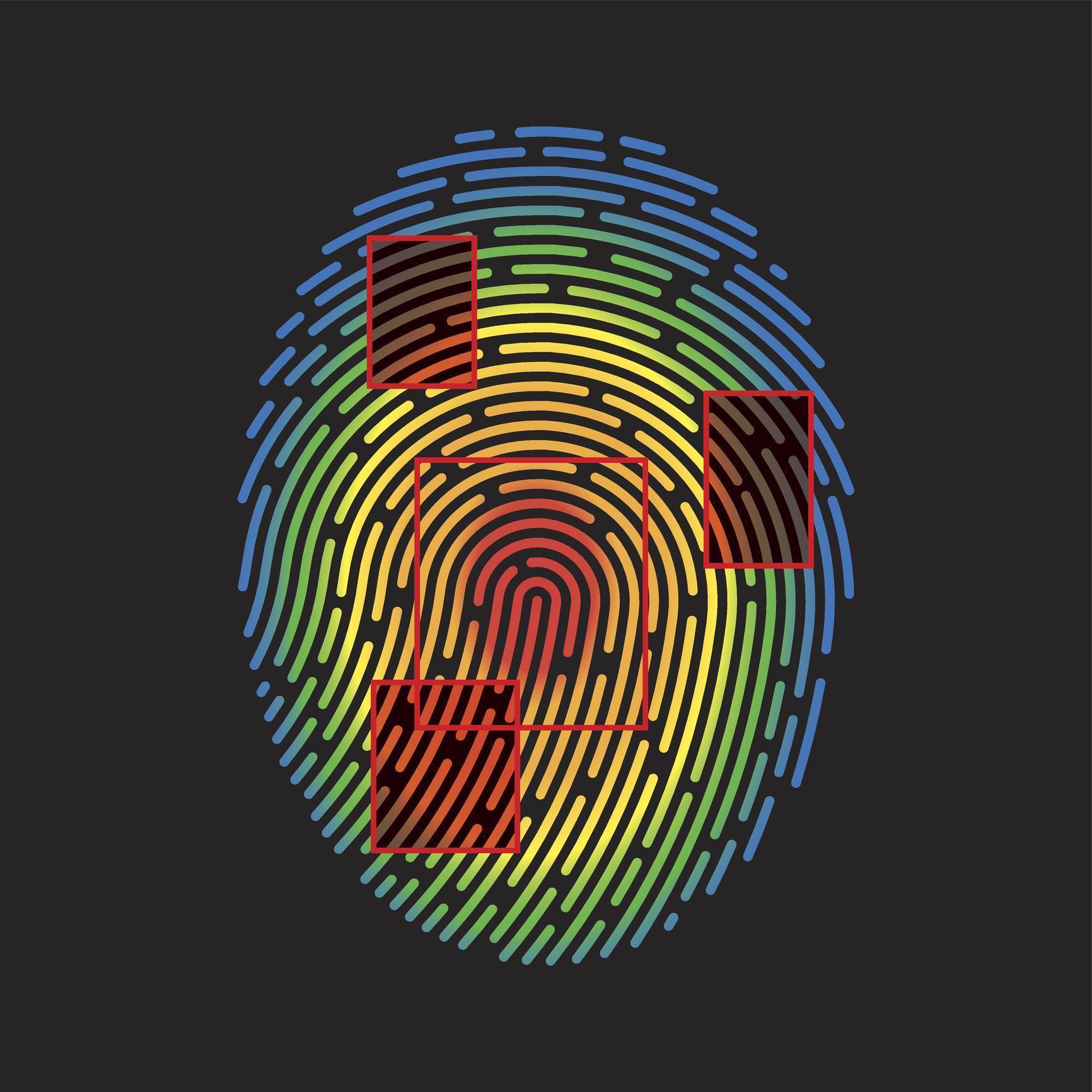 dna fingerprinting diagram hampton bay fan wiring of profiling vector elsavadorla