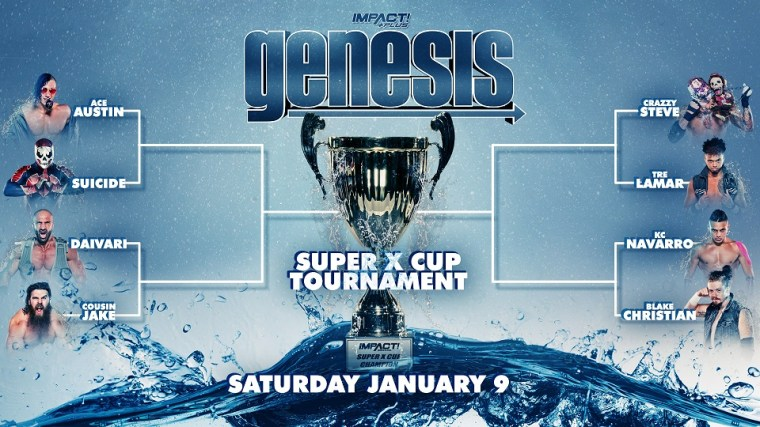 Super X-Cup Tournament Bracket Revealed – IMPACT Wrestling
