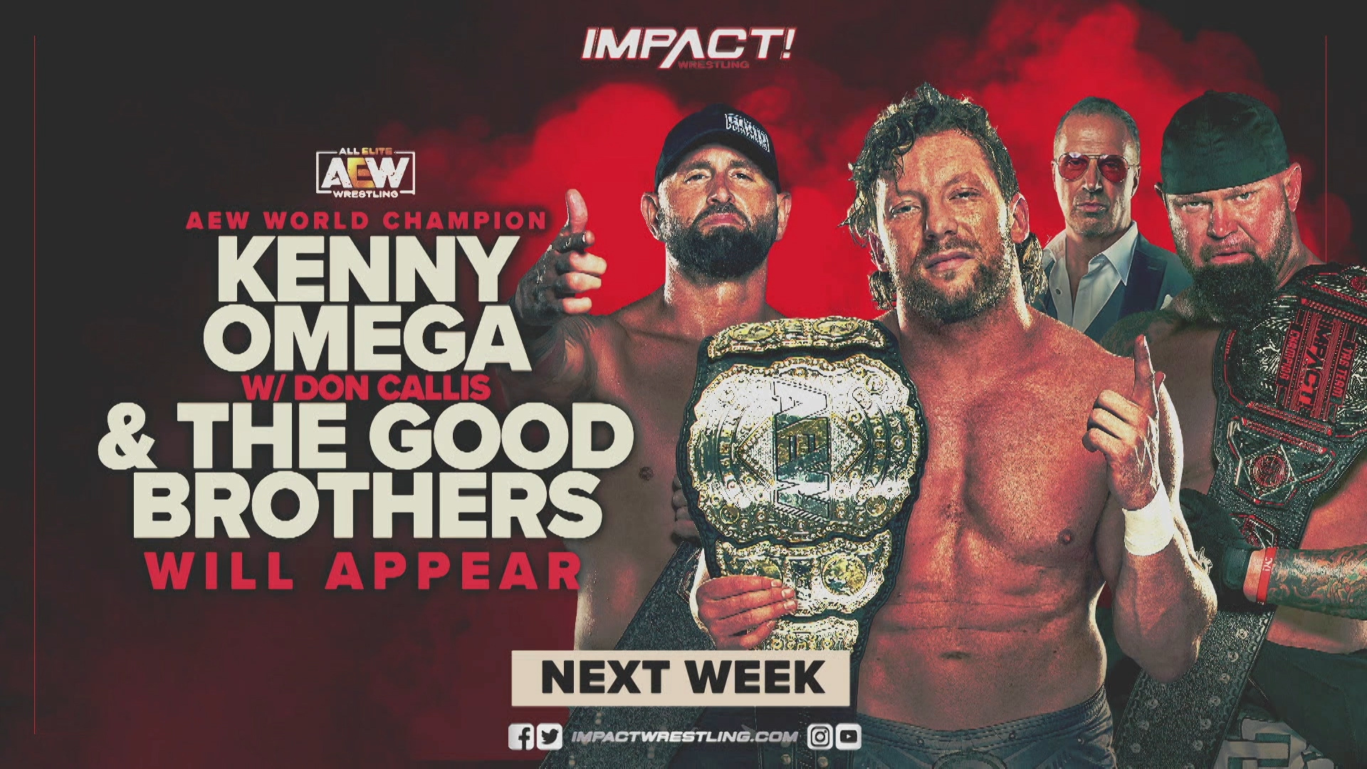 IMPACT! Kicks Off 2021 in a Big Way – IMPACT Wrestling