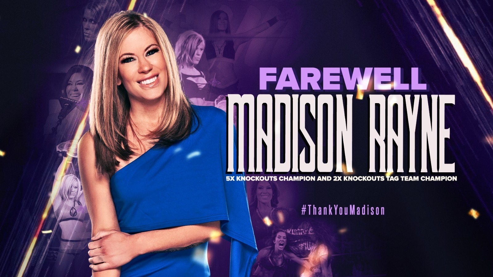 Madison Rayne Announces Retirement – IMPACT Wrestling