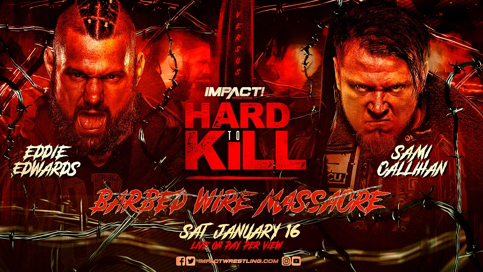Barbed Wire Massacre & More Announced for Hard To Kill – IMPACT Wrestling