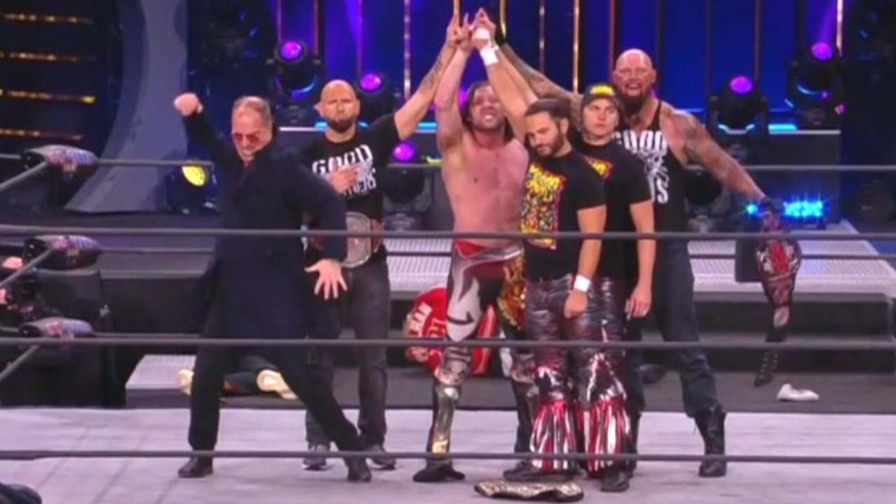Exclusive Fan Footage of Good Brothers Arriving on AEW Dynamite – IMPACT Wrestling