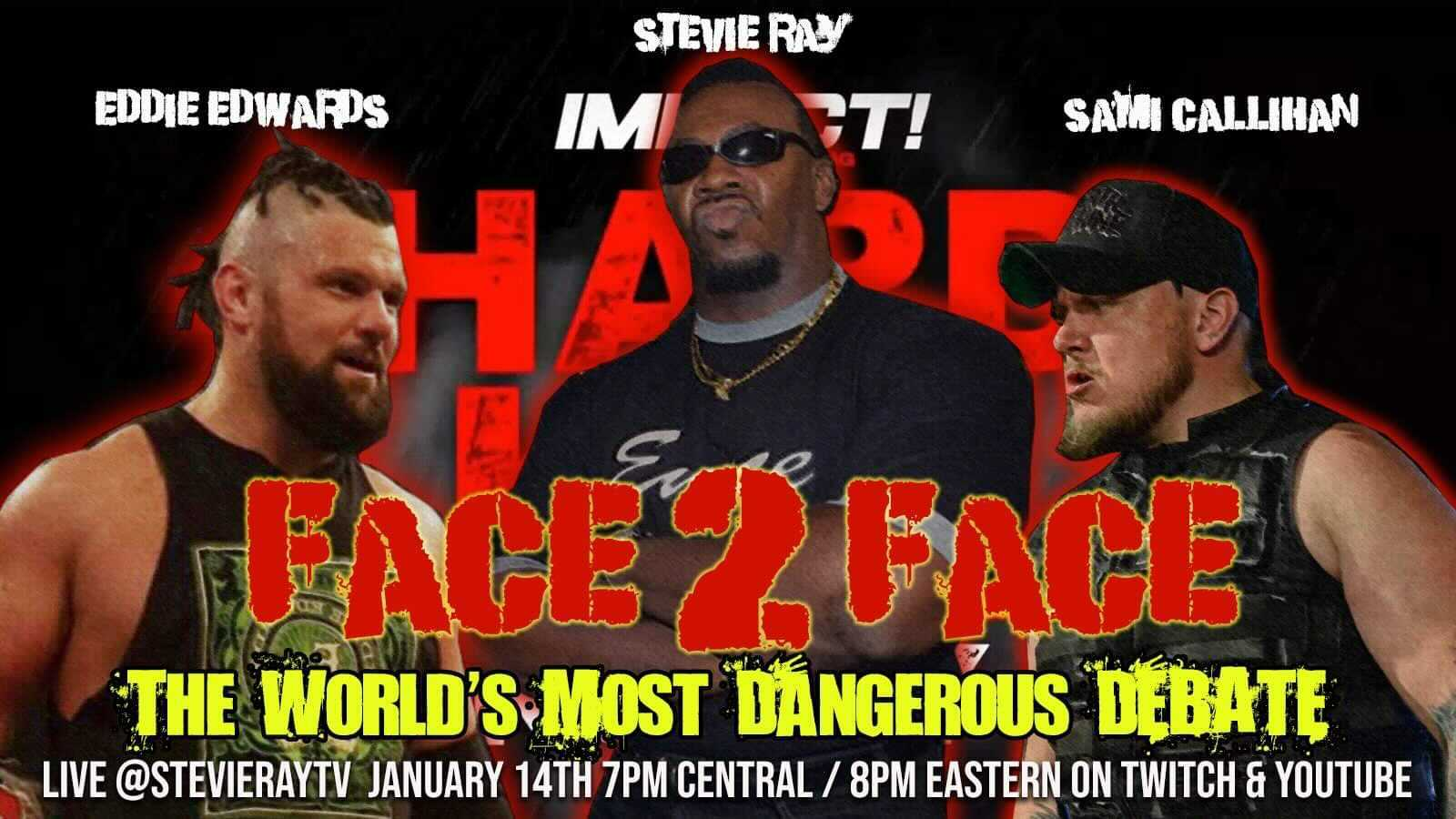 Sami Callihan & Eddie Edwards Appear on Face 2 Face Hosted by Stevie Ray – IMPACT Wrestling