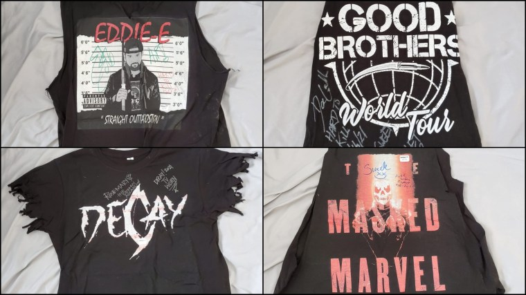Get Your Hard To Kill Autographed Match-Worn Shirts on eBay – IMPACT Wrestling