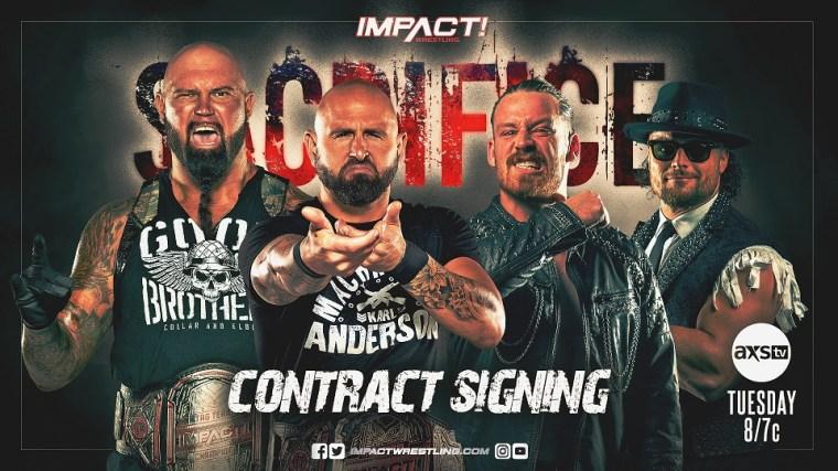 Last Stop Before Sacrifice – IMPACT Wrestling