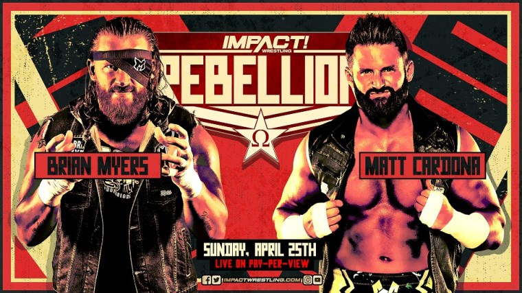 Myers Accepts Cardona's Challenge, X-Division Title 3-Way Official for Rebellion – IMPACT Wrestling