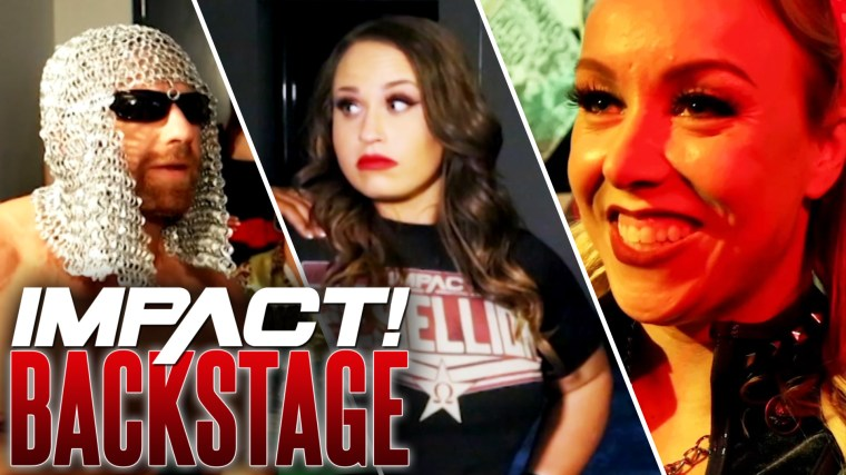 Jordynne Grace Mystery Partner, Little Petey Pump Math Lesson – IMPACT Wrestling