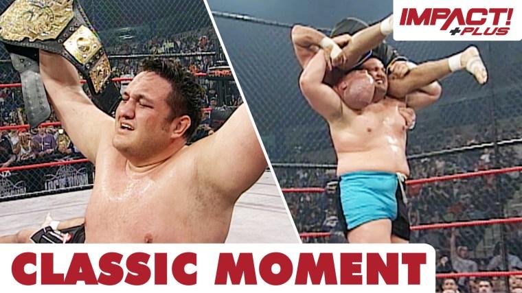 Samoa Joe Wins TNA World Championship! (Lockdown 2008) – IMPACT Wrestling