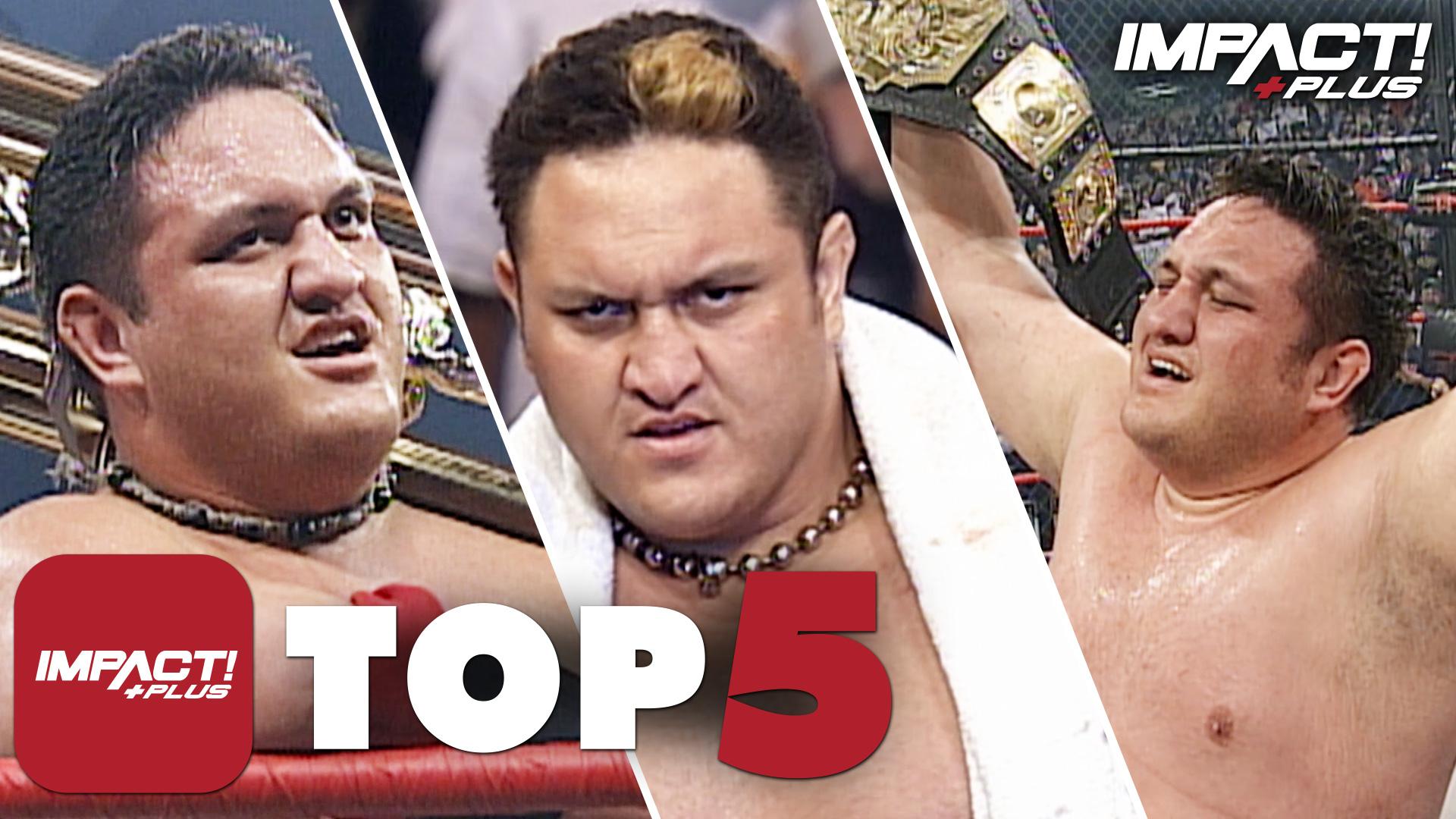 5 Greatest Samoa Joe Moments in IMPACT Wrestling History – IMPACT Wrestling