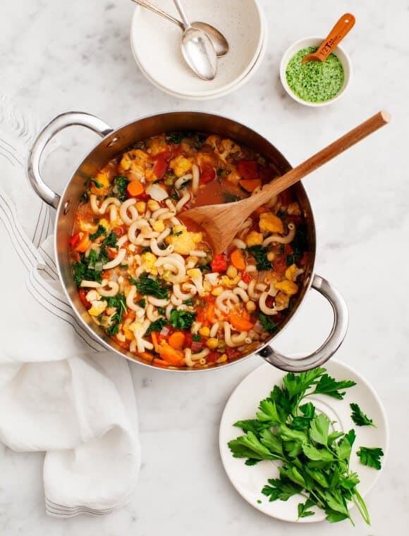 Chickpea Cauliflower & Tomato Stew
