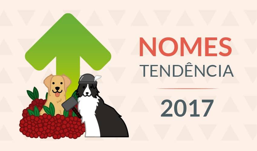 Saiba quais nomes são tendência entre cachorros no Brasil