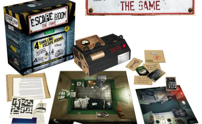Spin Master Spin Master Games Escape Room The Game