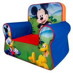Mickey Mouse Armchair Uk West Elm Chairs Outdoor Spin Master Marshmallow Furniture Comfy