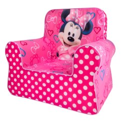 Minnie Mouse Upholstered Chair Bar Height Kitchen Table And Chairs Spin Master Marshmallow Furniture Comfy
