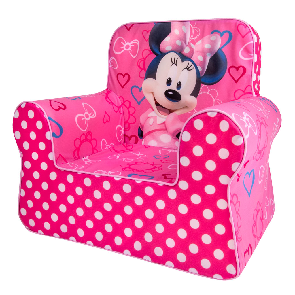 minnie mouse recliner chair ashley dining room chairs spin master marshmallow furniture comfy