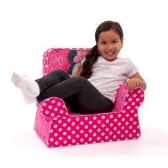 Minni Mouse Chair Hanging Home Depot Spin Master Marshmallow Furniture Comfy