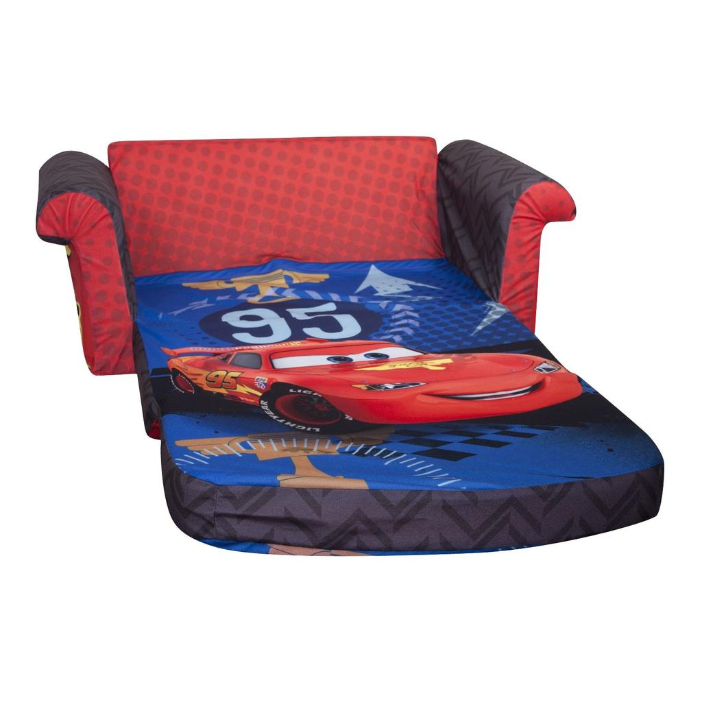 marshmallow flip open sofa disney toy story metro bed brown spin master furniture cars