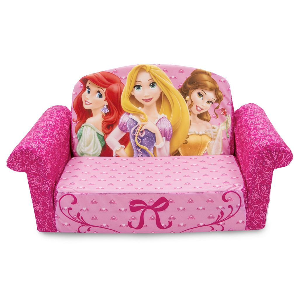 marshmallow flip open sofa disney toy story colourmatch single futon bed with mattress jet black spin master furniture