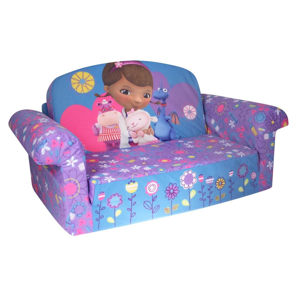 marshmallow flip open sofa disney toy story bed sleeper insert spin master furniture doc