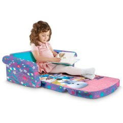 Doc Mcstuffins Chair Smyths High Table Cover Spin Master Marshmallow Furniture Flip Open Sofa