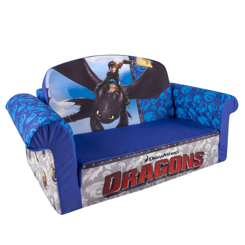 frozen flip sofa canada how to reupholster a without sewing spin master marshmallow furniture open dragons
