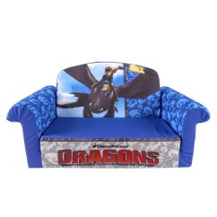 Toddler Flip Sofa Cover Walmart Futon Spin Master Marshmallow Furniture Open Dragons
