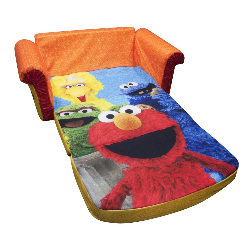 frozen flip sofa canada cloth set spin master marshmallow furniture open elmo sesame street