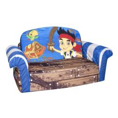 Flip Open Sofa Chair Hickory Styles Spin Master Marshmallow Furniture Jake Neverland Pirates