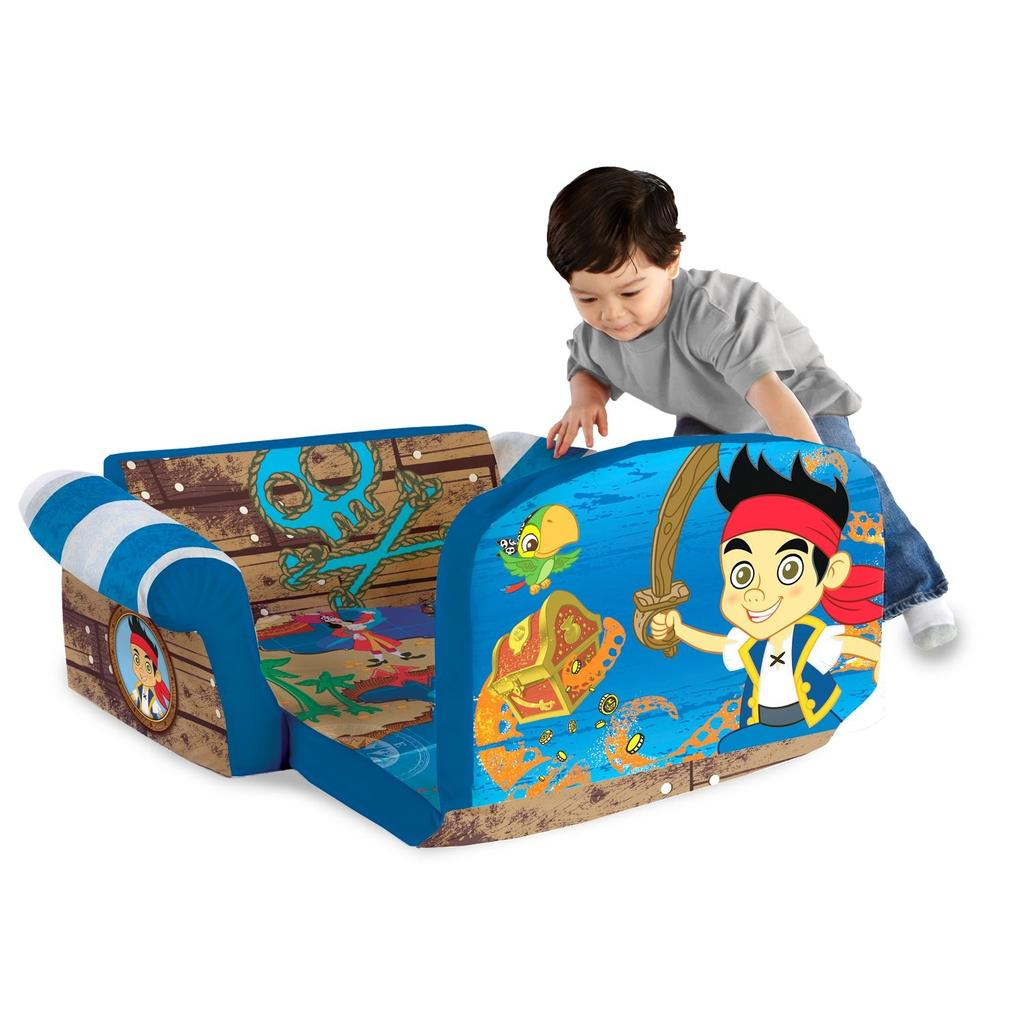 marshmallow flip open sofa disney toy story red living room images spin master furniture jake