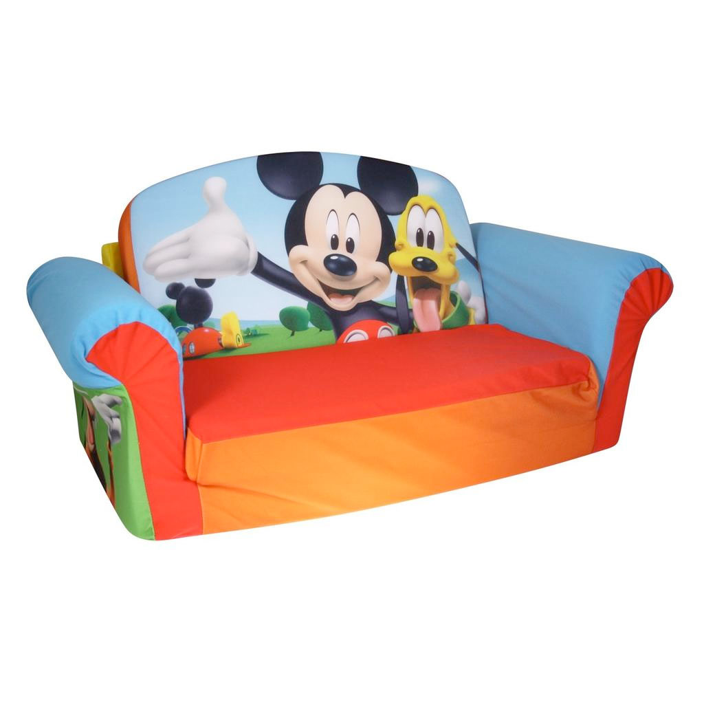 Mickey Mouse Chairs For Toddlers Marshmallow Furniture Flip Open Sofa Mickey Mouse Spin Master