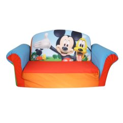 Disney Cars Sofa Canada Antique Chaise Lounge Bed Spin Master Marshmallow Furniture Flip Open Mickey Mouse Club House