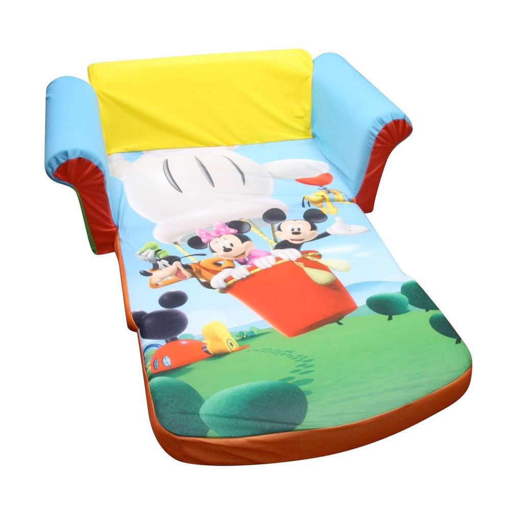 Mickey Mouse Chairs For Toddlers Mickey Mouse Flip Out Sofa