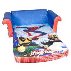 Flip Chair Walmart Wedding Covers Hire North West Spin Master Marshmallow Furniture Open Sofa Spiderman