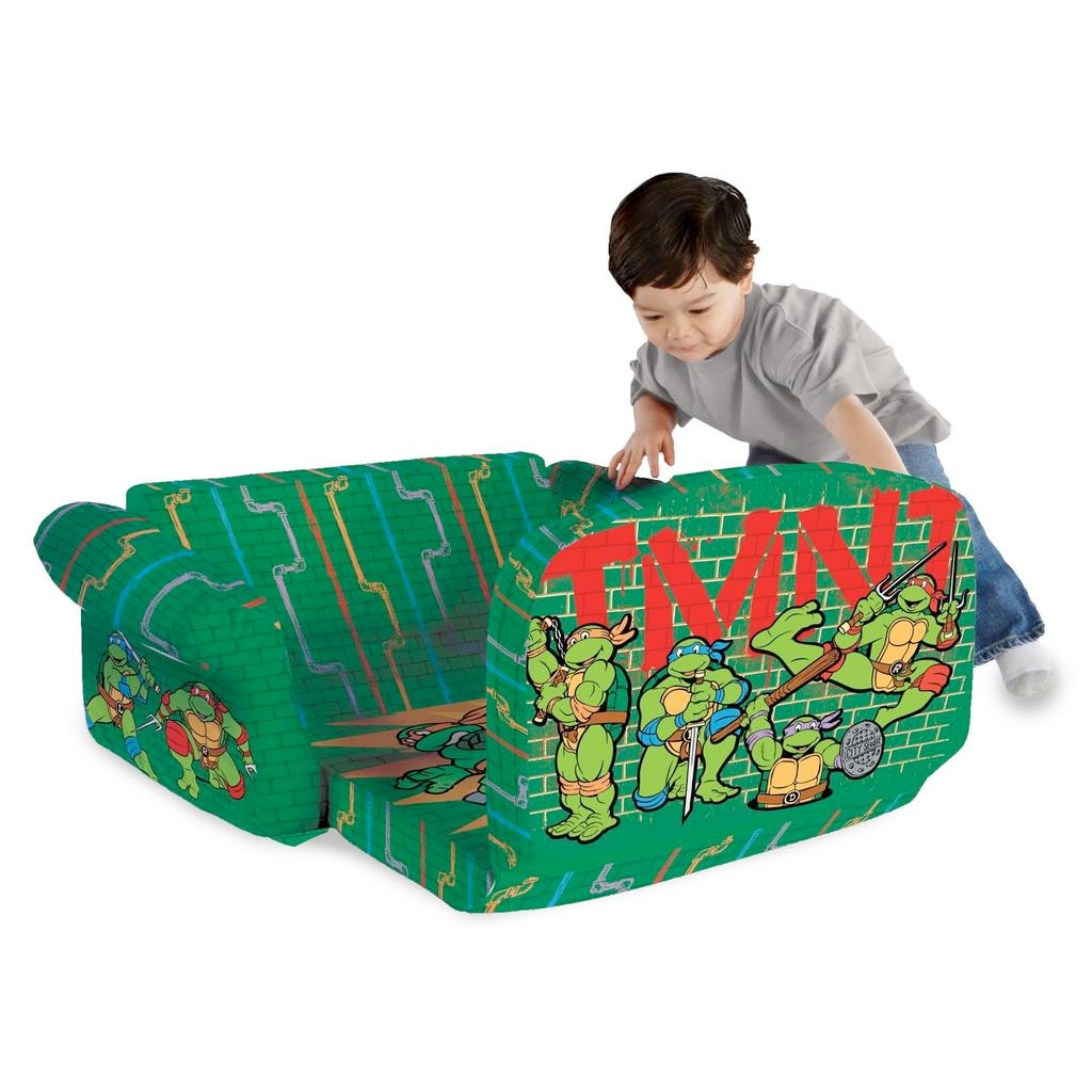 child pull out sofa furniture perth spin master marshmallow flip open tmnt retro