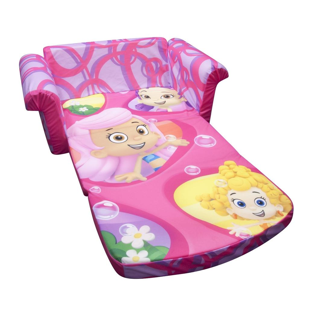 marshmallow flip open sofa disney toy story dr nj spin master furniture bubble