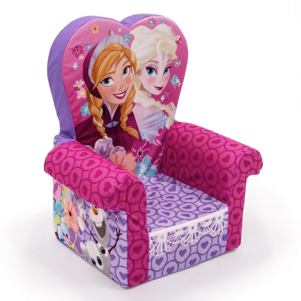 frozen flip sofa canada leon s table spin master marshmallow furniture high back chair