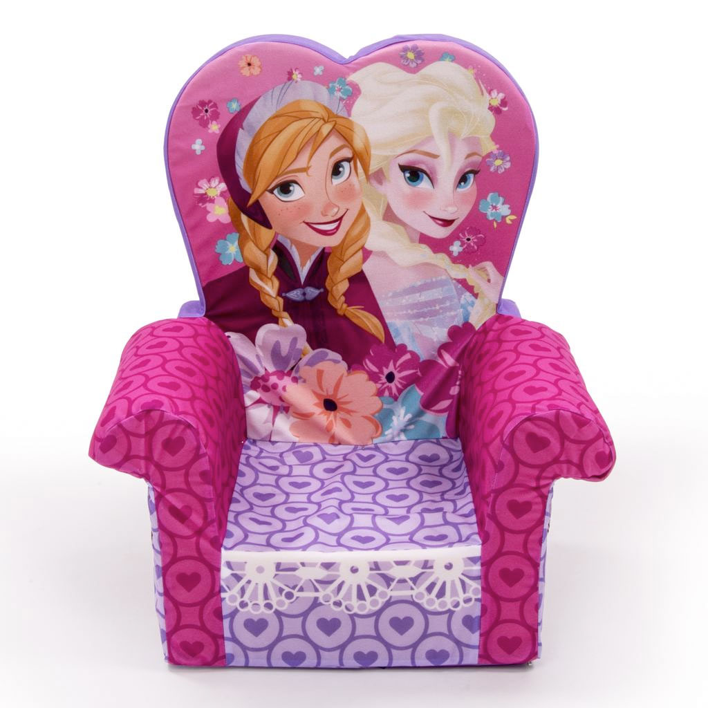 marshmallow flip open sofa disney toy story bradford millwall score spin master furniture high back chair frozen