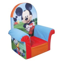 Mickey Mouse Clubhouse Chair Green Outside Chairs Marshmallow Furniture High Back Club House Bring Your Child S Favorite Characters To Life With The Fun And Comfortable Line Of Ages 18 Months
