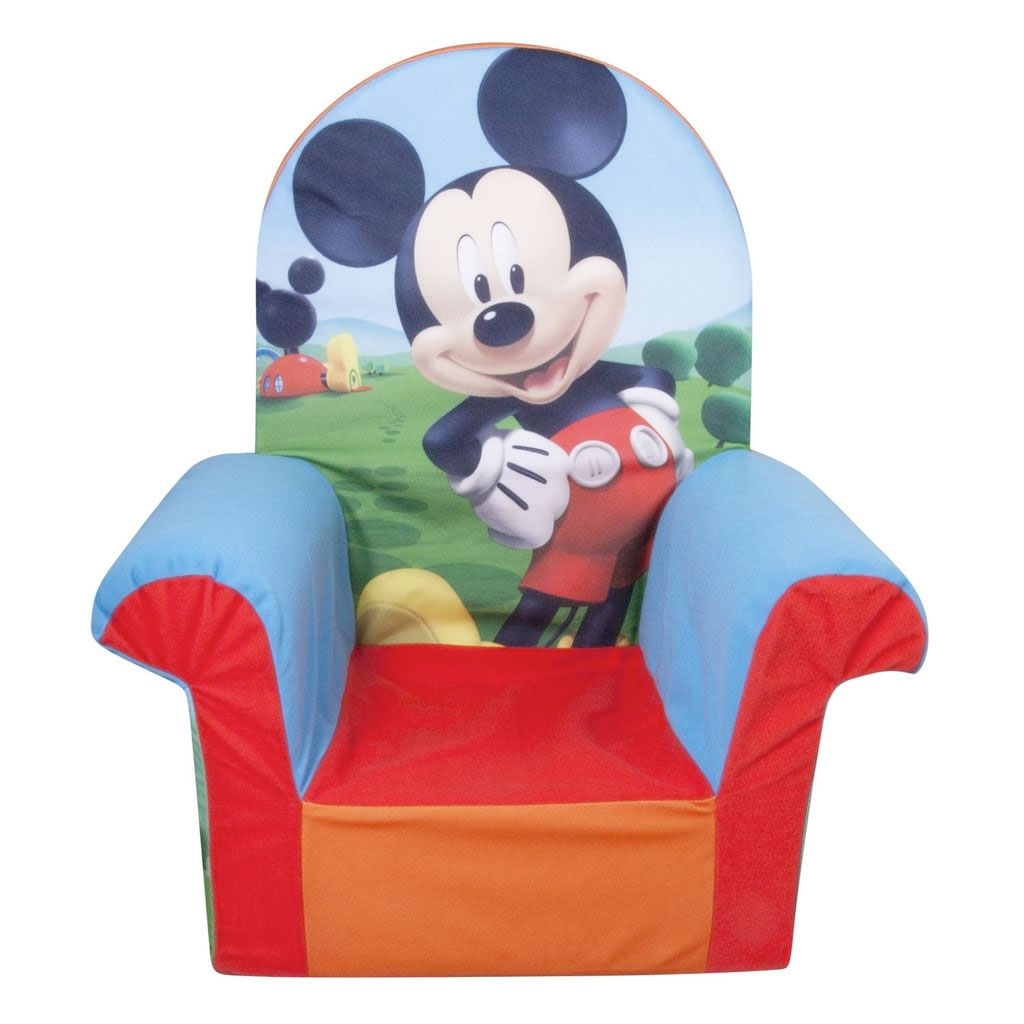 mickey mouse armchair uk hanging chair plastic spin master marshmallow furniture high back