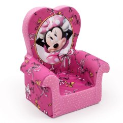 Minni Mouse Chair Hanging Ebay Uk Spin Master Marshmallow Furniture High Back Minnie
