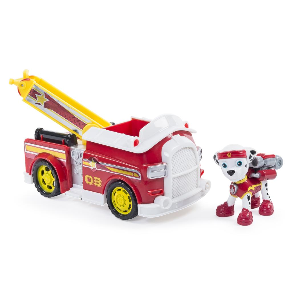 Marshall With His Fire Truck Coloring Page Lego Fire Truck