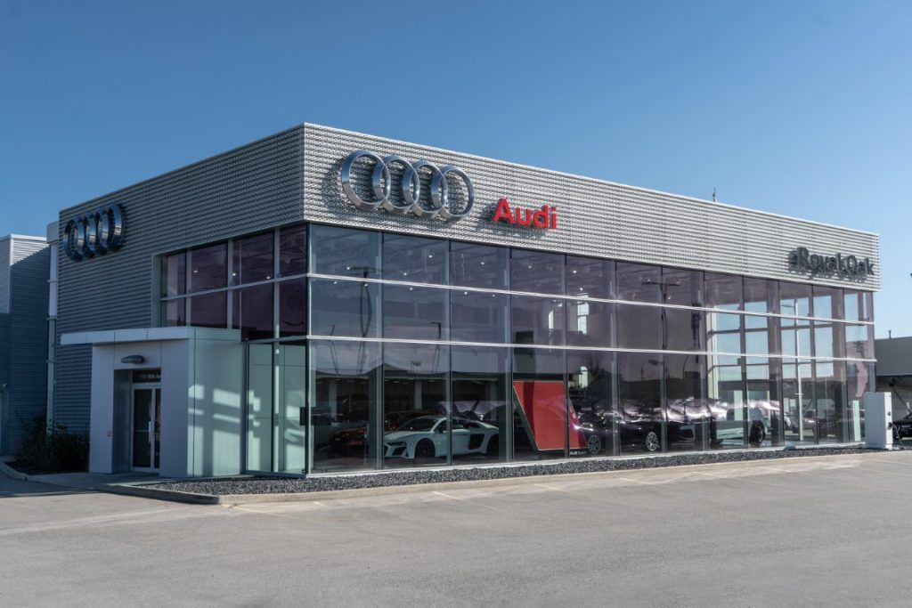 From timeless classics like the a3 sedan and tt coupe, to newly emerging stars like the q8, we are proud to be north america's largest dealership when it comes to new audi vehicles, and a flagship store for everything the audi brand represents. New Audi Dealership in Calgary | Audi Royal Oak Calgary AB.