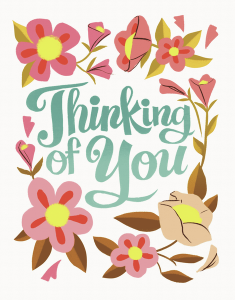 Thinking Of You Clipart : thinking, clipart, Thinking, Postable