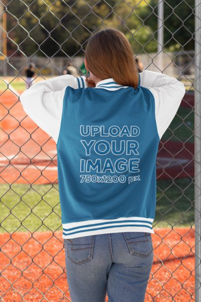 Add your own designs, patches, fabric patterns, by copy and pasting your creations into the designated layers. Bomber Jacket Mockup Generator Try 15k Mockups For Free Placeit
