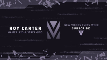 If you have your own one, just send us the image and we will show. Youtube Banner Maker Design Templates Placeit