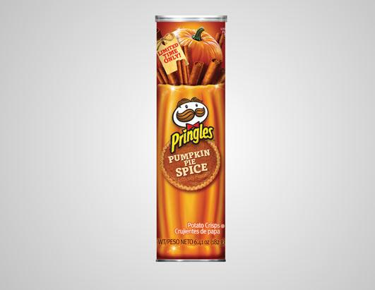 Image result for pumpkin spice pringles