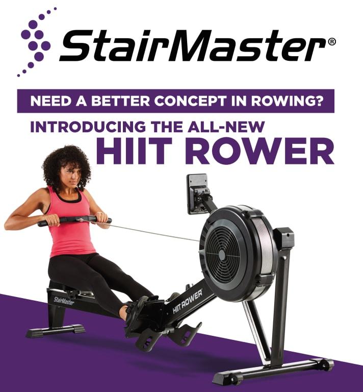 Inserat - StairMaster HIIT Rower - die perfekte Cardio ...